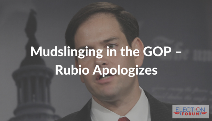Mudslinging in the GOP–Rubio Apologizes