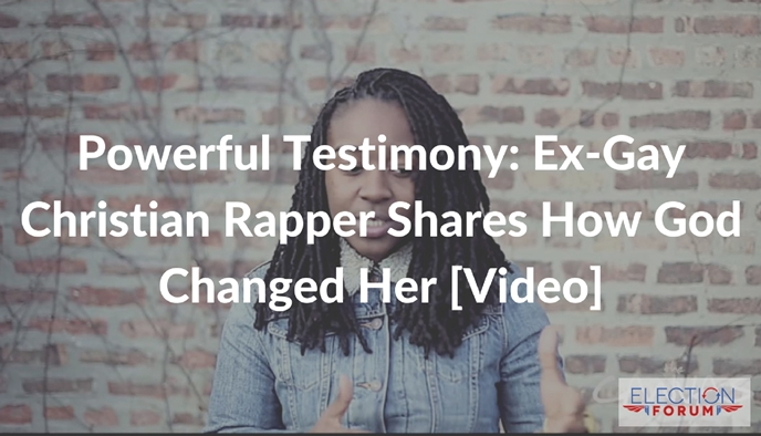 Powerful Testimony: Ex-Gay Christian Rapper Shares How God Changed Her [Video]