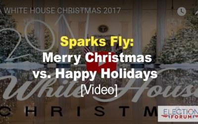Sparks Fly: Merry Christmas vs. Happy Holidays [video]
