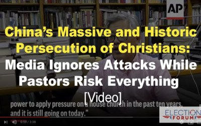 China's Massive and Historic Persecution of Christians: Media Ignores Attacks While Pastors Risk Everything [Video]
