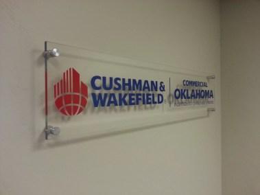 Commercial Oklahoma Lobby Sign Photo