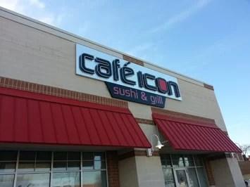 Cafe Icon Installation Pics