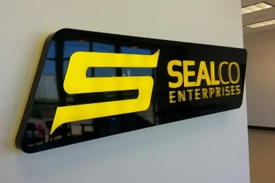SealCo Interior Illuminated Wall Sign