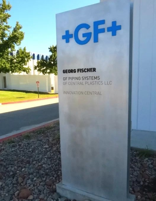 Electremedia contributes Designs and Signs for +GF+ Innovation Central