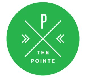 Original logo for The Pointe
