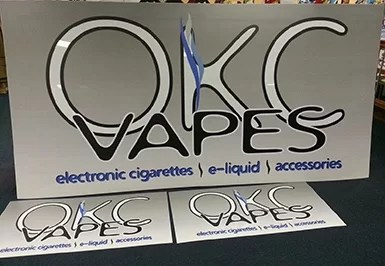 Digitally Printed Sign Faces