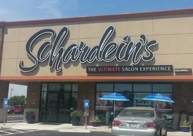 Massive New Logo Signs Installed for Schardein Salons