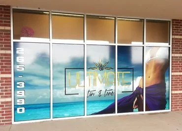 New Window Wrap Graphics for Ultimate Tan and Tone