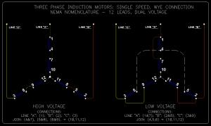 12 Lead 480v Motor Wiring Diagram  impremedia