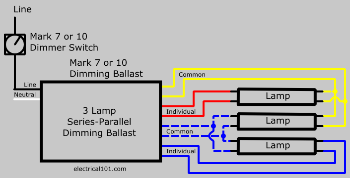 3 L Ballast Wiring Diagrams Parallel – Led Nlight Wiring Harness Diagrams