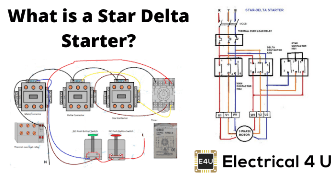 star delta starter explained in plain english electrical4u