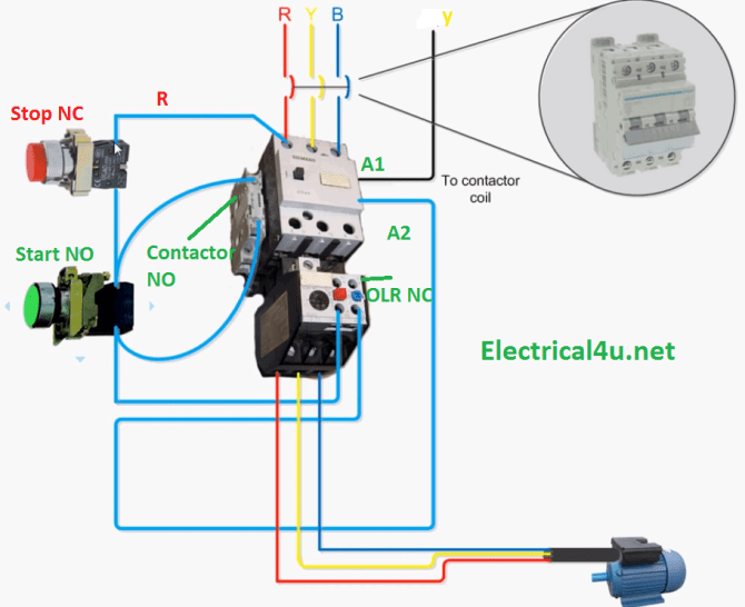 10 hp motor starter typical wiring diagram  fishman wiring