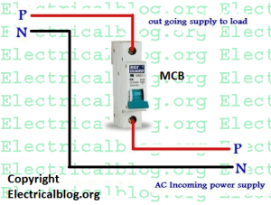 Single Pole MCB Connection Diagram | Wiring MCB Video Tutorial