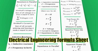basic-electrical-engineering-formula-sheet