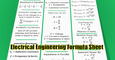 basic-electrical-engineering-formula-sheet