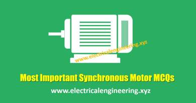most-important-synchronous-motor-mcqs