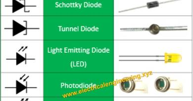 types-of-diodes-sheet