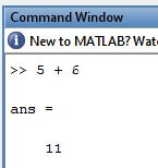 how to add two numbers in matlab