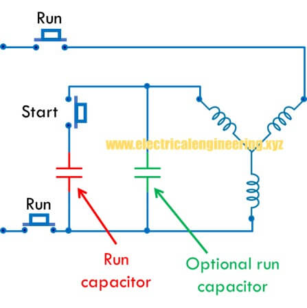 how to start three phase motor on single phase supply