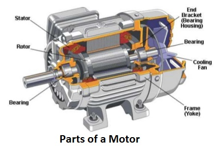 Introduction To Induction & AC Electric Motor | Working Principle & Types