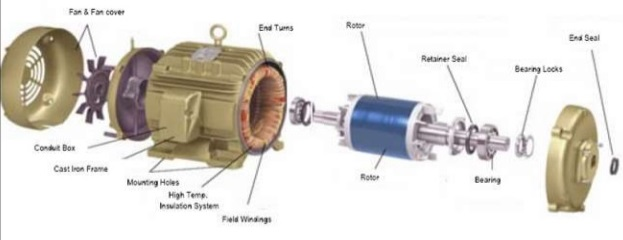 Introduction To Induction Ac Electric Motor Working