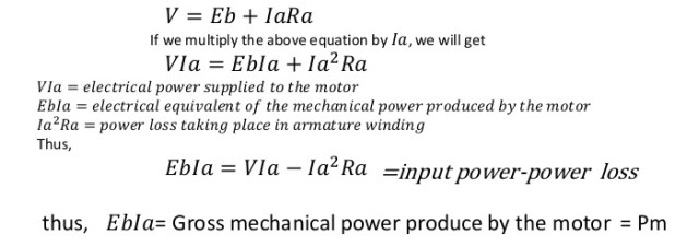 dc-motor-voltage-power-equation