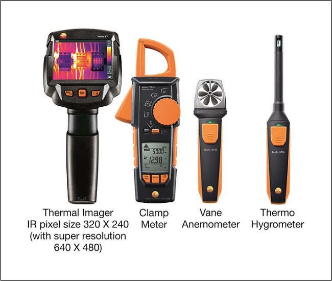 New Products Information, Latest Technology, free resources, white papers, Planning & Design| energy & power industry | Testo Bluetooth Thermal Imagers and connecting smart devices - Electrical India Magazine on Power & Electrical products, Renewable Energy, Transformers, Switchgear & Cables