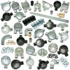 Metal Conduit Boxes, Bends, Elbows, Tees, Fittings and Accessories, Galv, Brass and Black