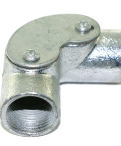 Inspection Elbow for 20mm Galvanised Conduit 2
