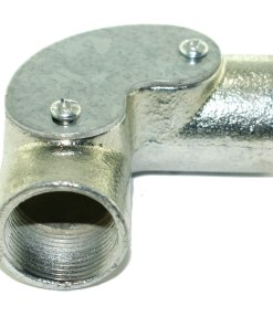 25mm Galvanised Conduit Inspection Elbow 2