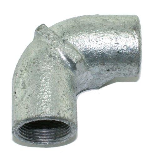 25mm Inspection Elbow Galvanised Conduit Rear