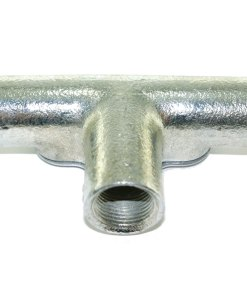 Inspection Tee for 20mm Galvanised Conduit 2