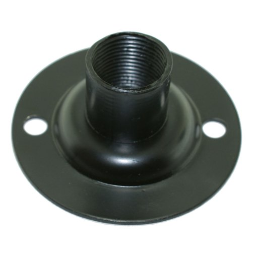 Spouted Black Dome Conduit Cover Pressed Steel for 20mm Conduit