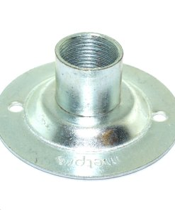 20mm Conduit Dome Cover - Pressed Steel 2