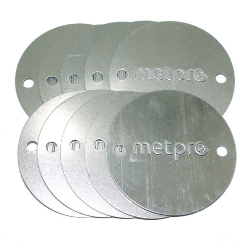 10 x 20/25mm Metal Conduit Box Lid BRANDED