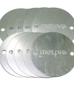 10 x 20/25mm Metal Conduit Box Lid BRANDED