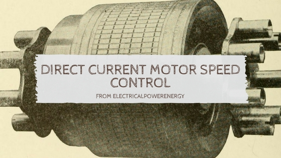 direct current motor speed control