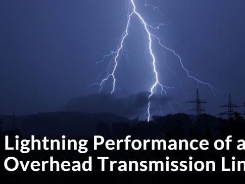 Lightning Performance of an Overhead Transmission Line