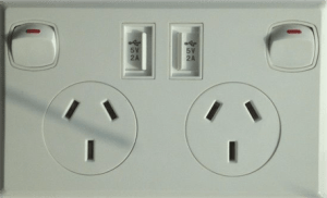 Dual Socket Power Points Canberra
