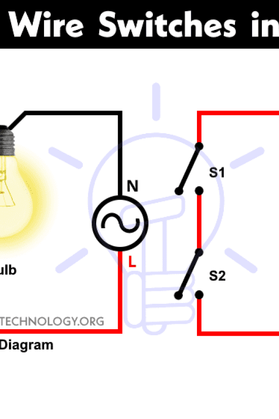 how to wire switches in series  single way switch with
