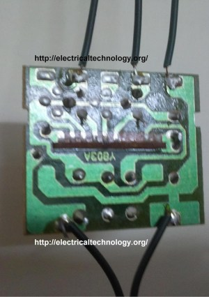 LED String  Strip Circuit Diagram Using PCR406 | Electrical