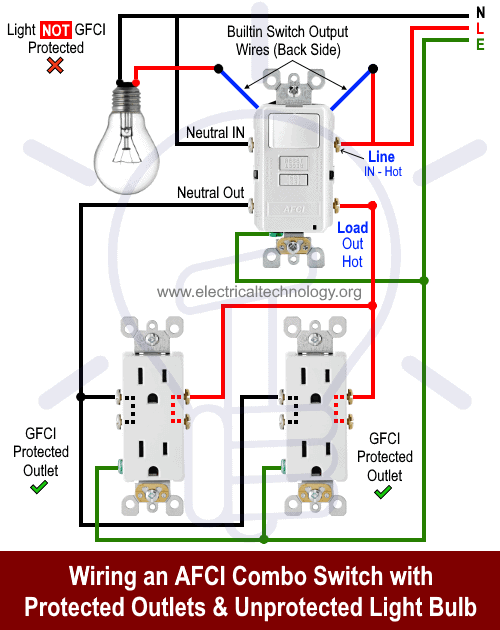 diagram light switch home wiring diagram afci full version