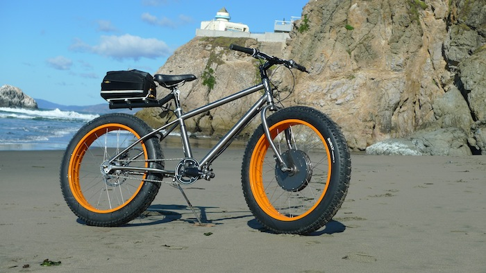Fat ebikes sand bikes electricbike com for How to electric motorize a bicycle