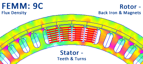 9C FEMM Detail - diagram