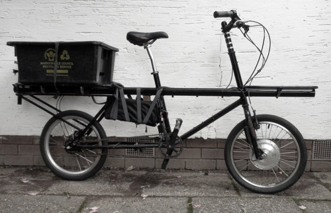 cargo electric bikes big mommas electricbike com. Black Bedroom Furniture Sets. Home Design Ideas