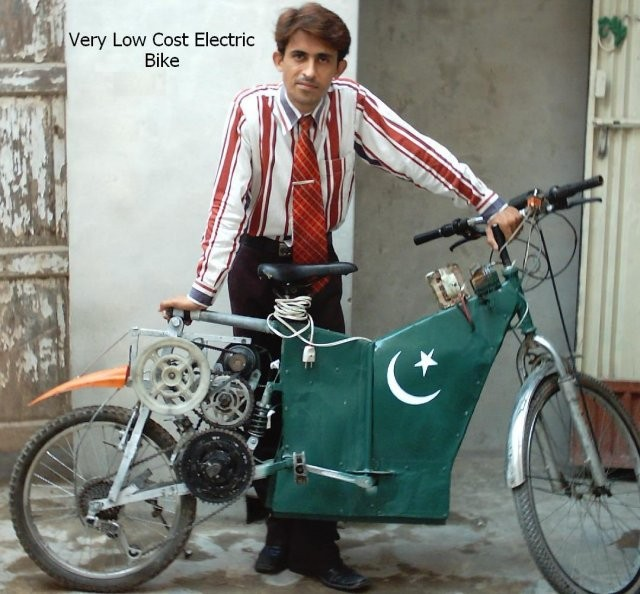 Inspiring Home Built Electric Bike In Pakistan