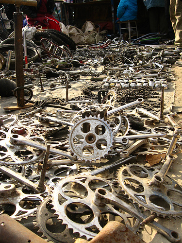 Electric Bike Graveyard | ELECTRICBIKE.COM on