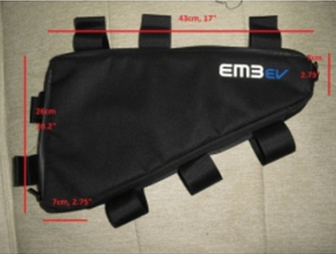 The triangle bag from em3ev.com.