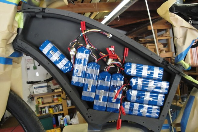 98-Volts of LiPo is a big battery pack.
