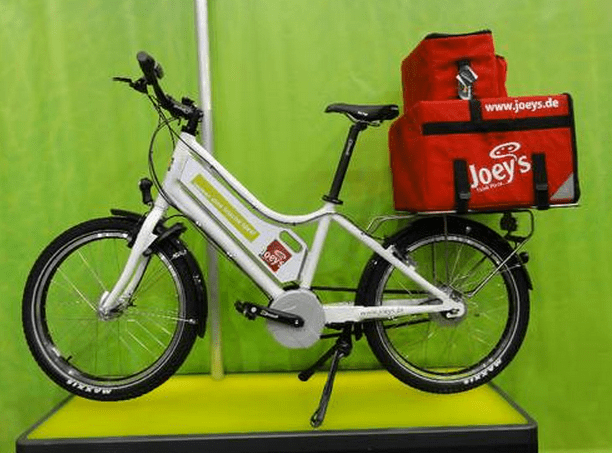 Electric Bicycles Are Being Used To Deliver Pizza In